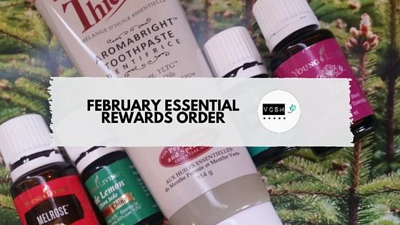 february essential rewards order
